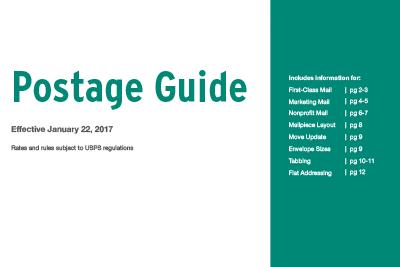 2017 postal rate guide